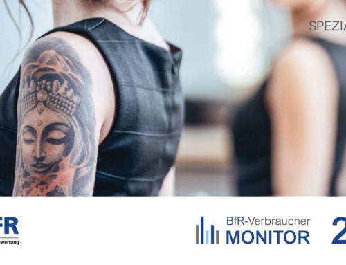 BfR-Verbrauchermonitor 2018 | Spezial Tattoos