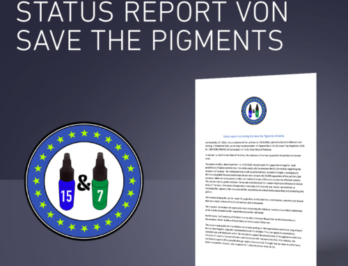 Neuigkeiten über den Kampf zur Rettung unserer Pigmente von Save the Pigments